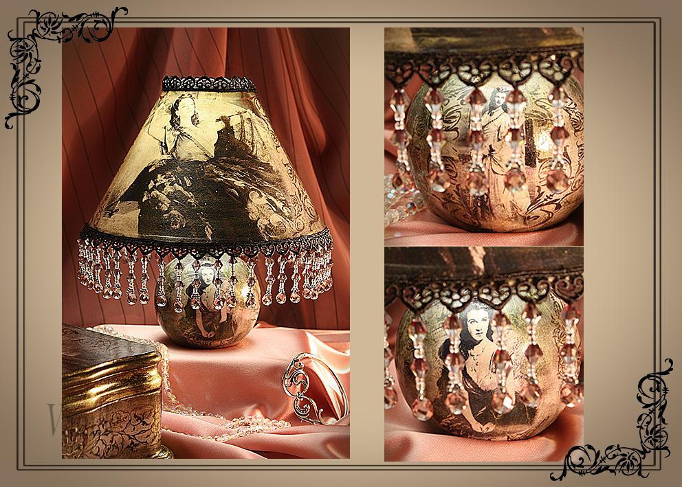 Настольные лампы своими руками мастер класс